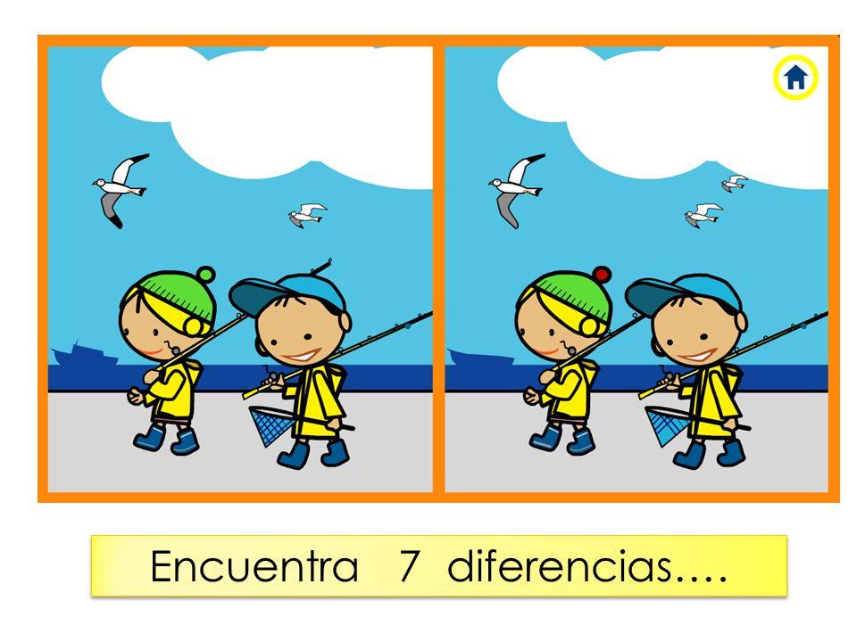 Encuentra 7 diferencias….