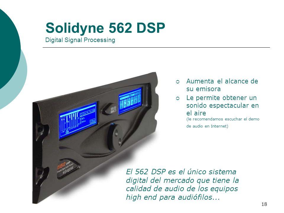 Solidyne 562 DSP Digital Signal Processing