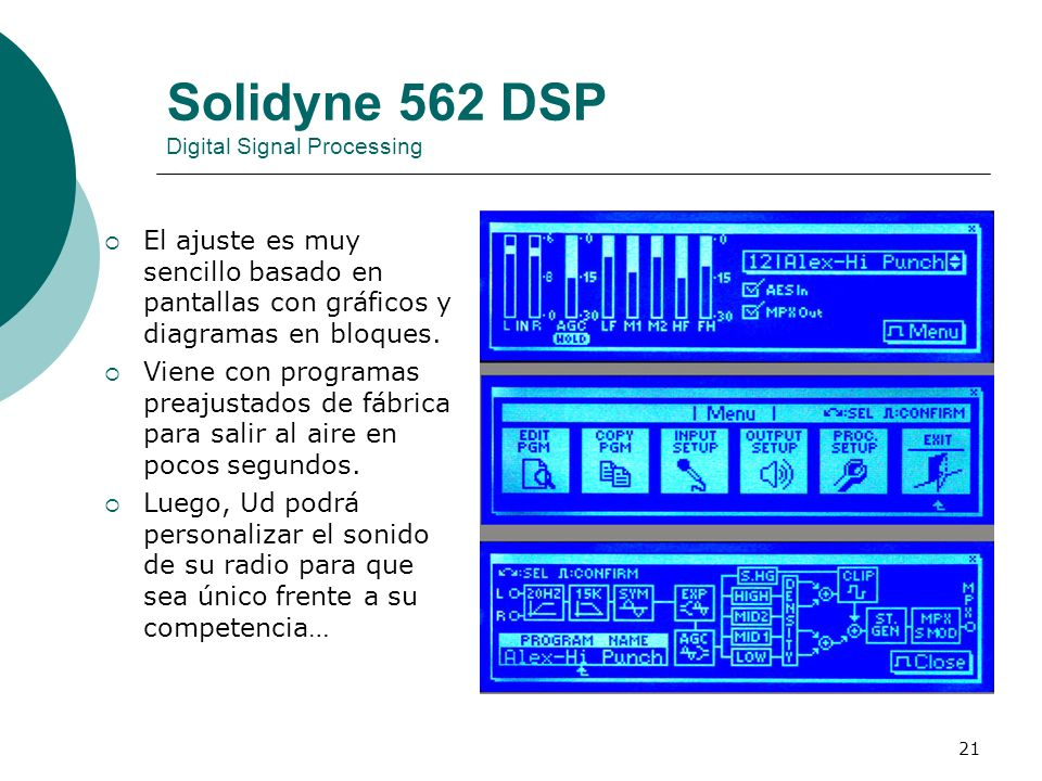 Solidyne 562 DSP Digital Signal Processing