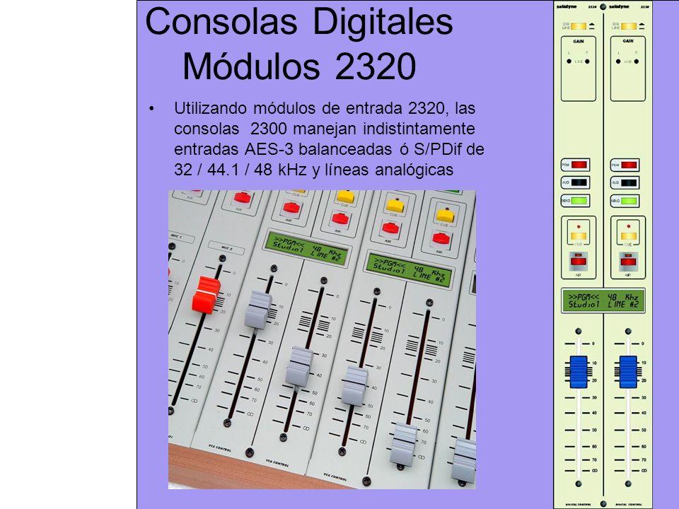 Consolas Digitales Módulos 2320