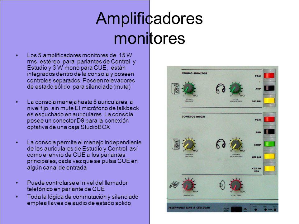Amplificadores monitores