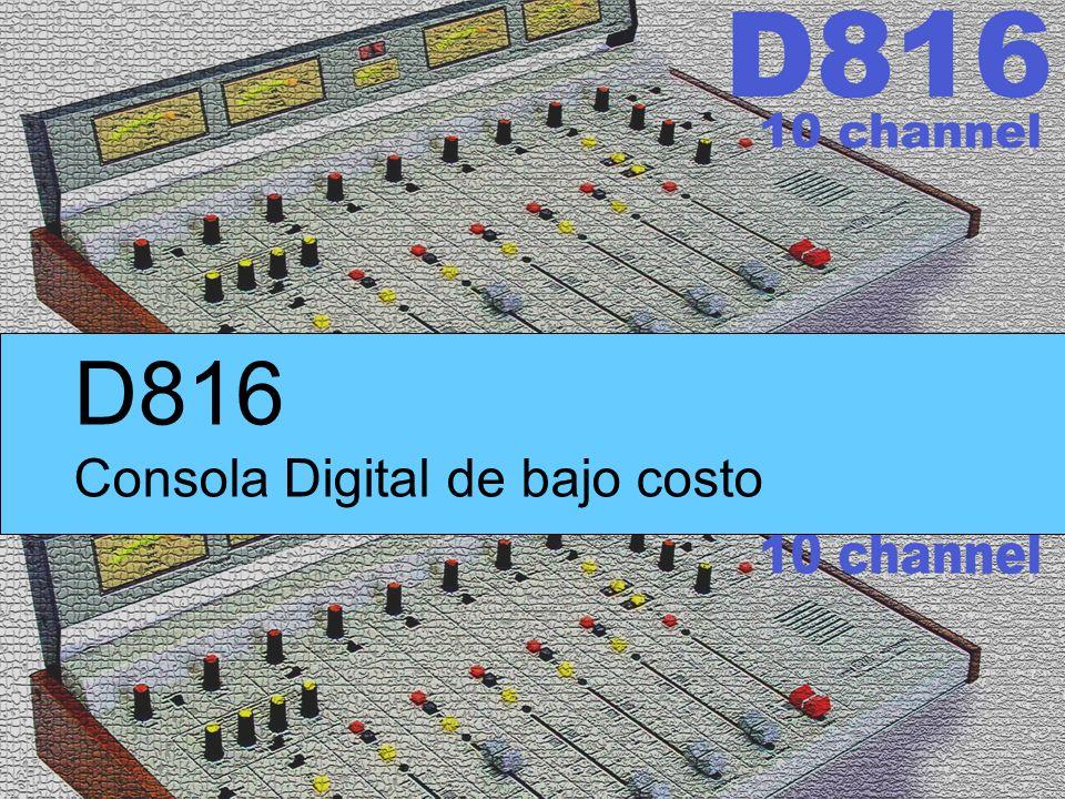 D816 Consola Digital de bajo costo