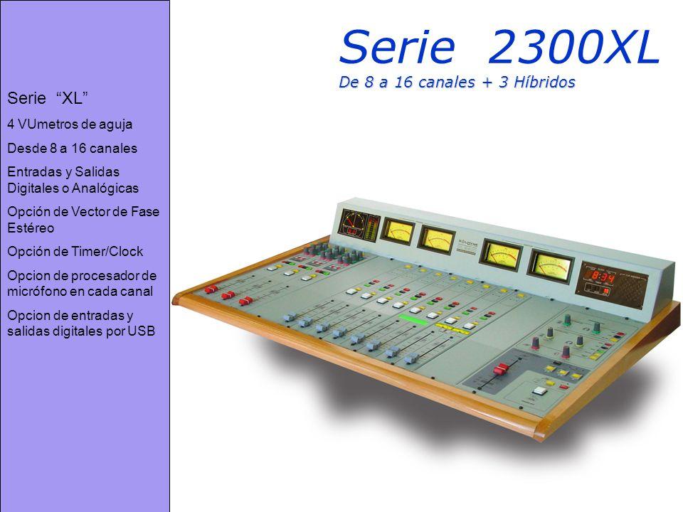 Serie 2300XL De 8 a 16 canales + 3 Híbridos