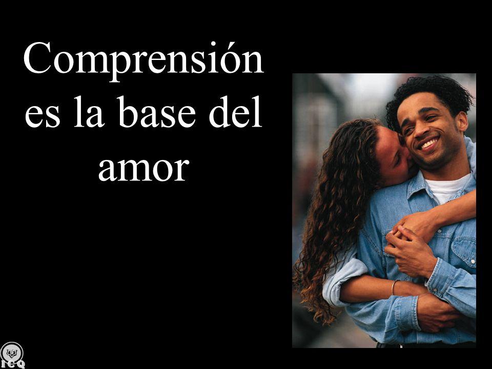 Comprensión es la base del amor