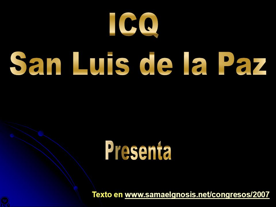 ICQ San Luis de la Paz Presenta