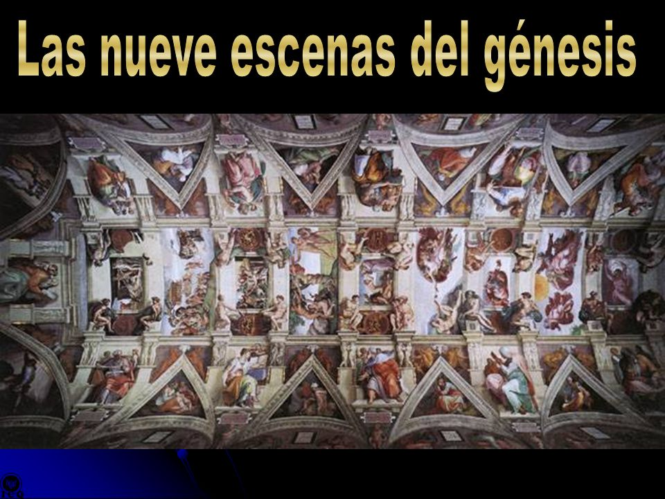 Las nueve escenas del génesis
