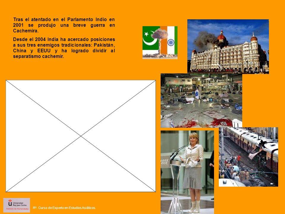 Tras el atentado en el Parlamento Indio en 2001 se produjo una breve guerra en Cachemira.