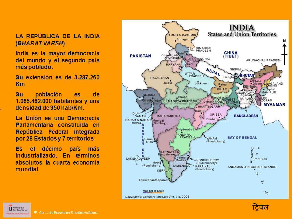 ट्रिपल LA REPÚBLICA DE LA INDIA (BHARAT VARSH)