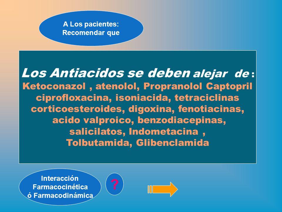 CURSO : La Atencion Farmaceutica en las Interacciones