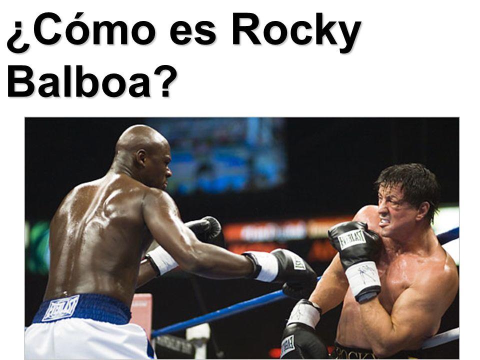 ¿Cómo es Rocky Balboa