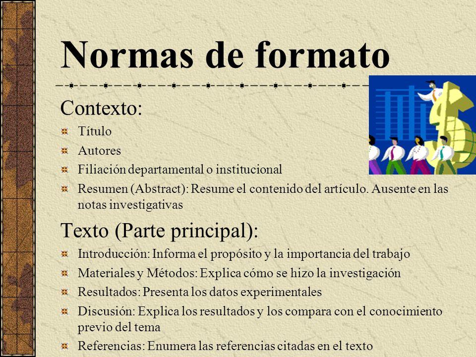 COMO ESCRIBIR Y PUBLICAR TRABAJOS CIENTIFICOS - ppt descargar