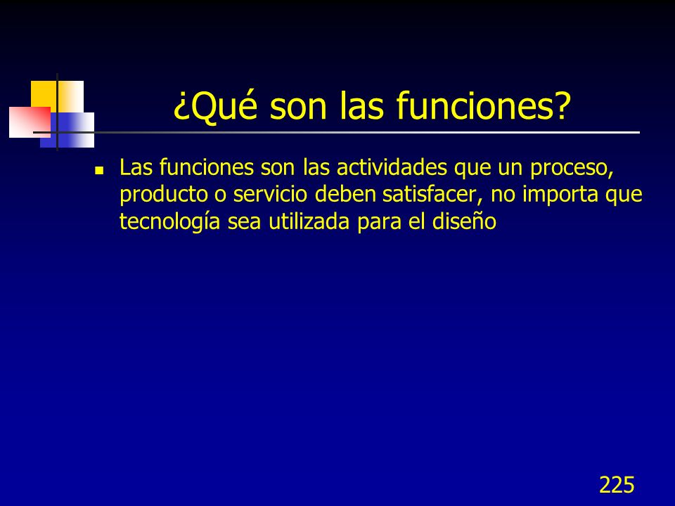 ¿Qué son las funciones