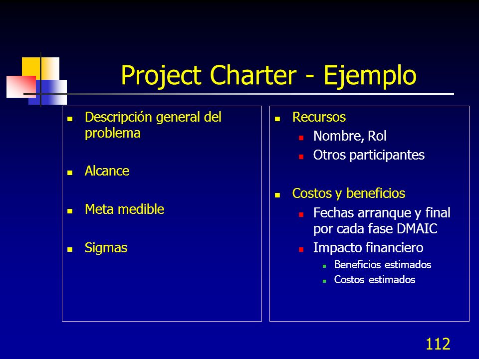 Project Charter - Ejemplo