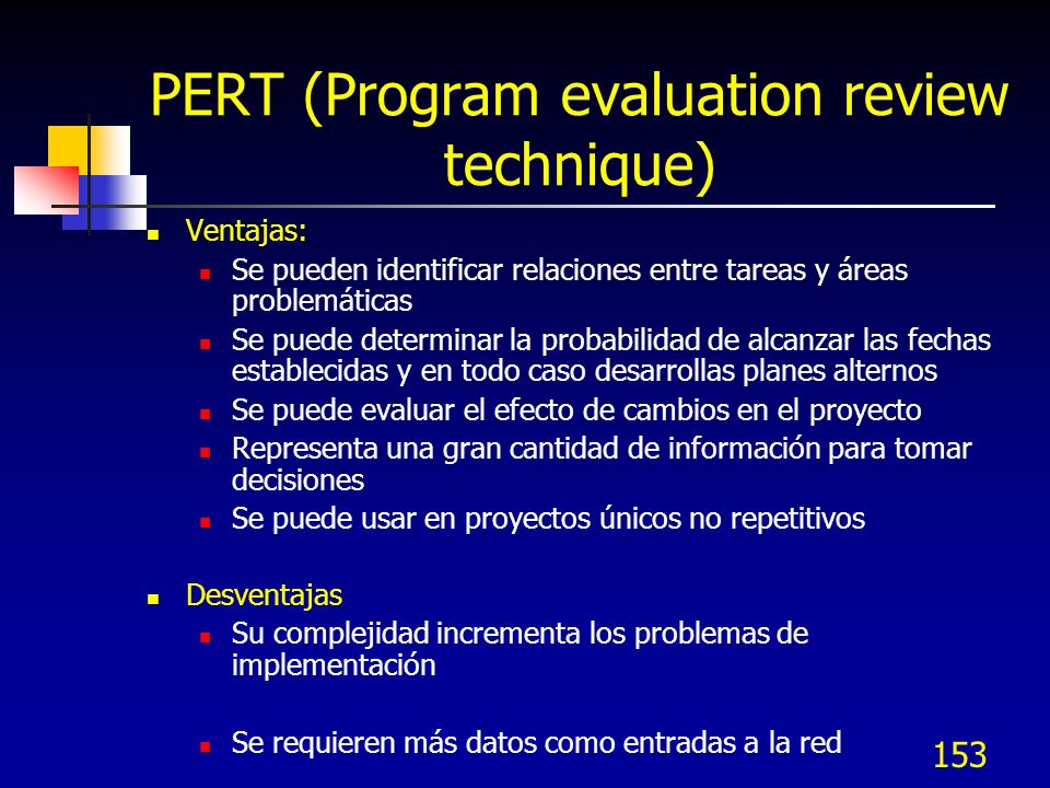 PERT (Program evaluation review technique)