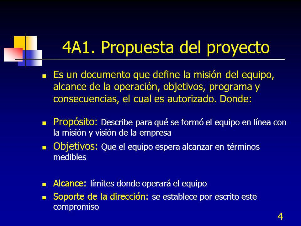 4A1. Propuesta del proyecto