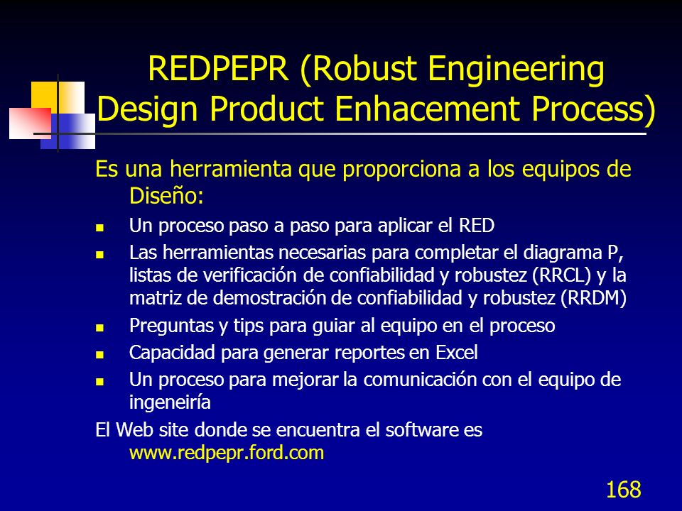 REDPEPR (Robust Engineering Design Product Enhacement Process)