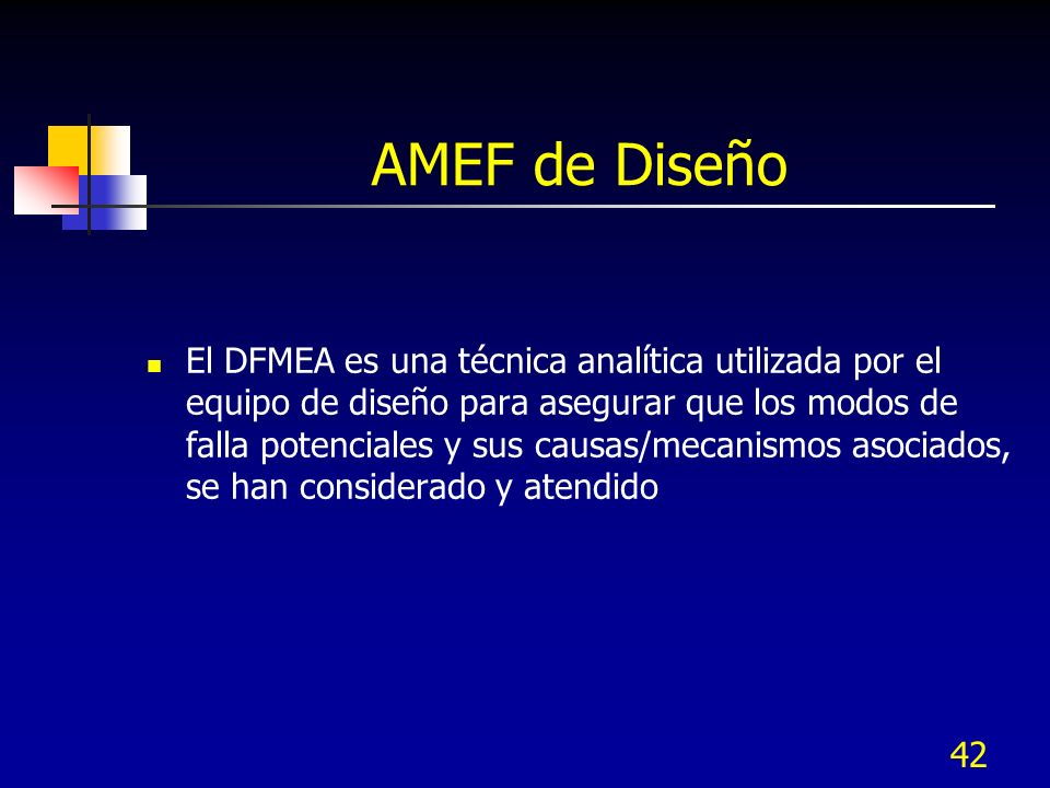 AMEF de Diseño