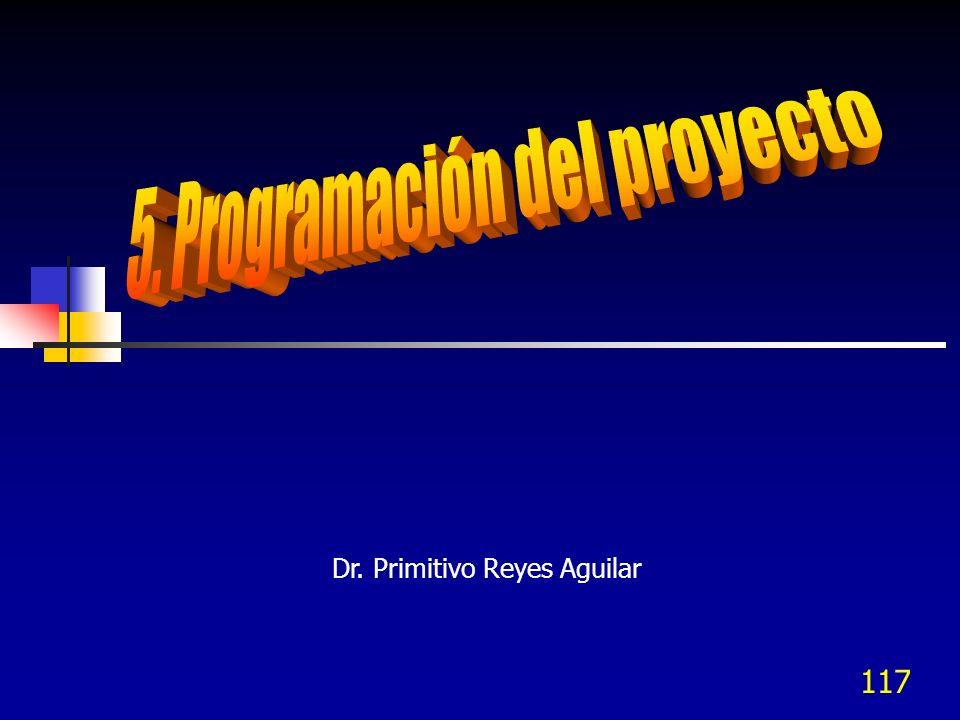 5. Programación del proyecto