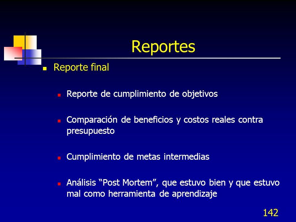 Reportes Reporte final Reporte de cumplimiento de objetivos