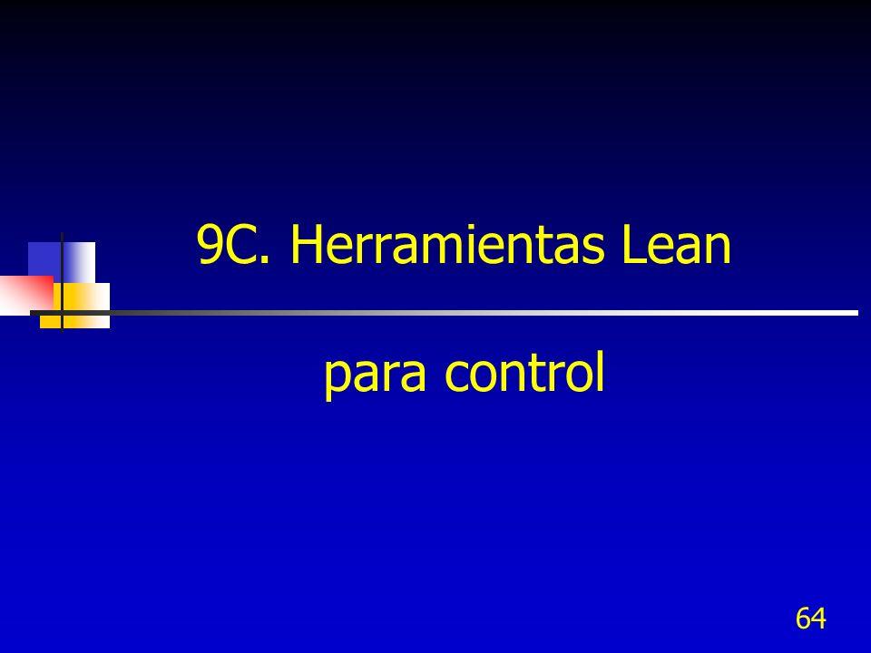 9C. Herramientas Lean para control