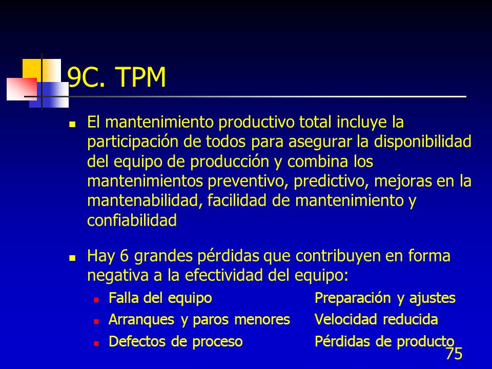 9C. TPM