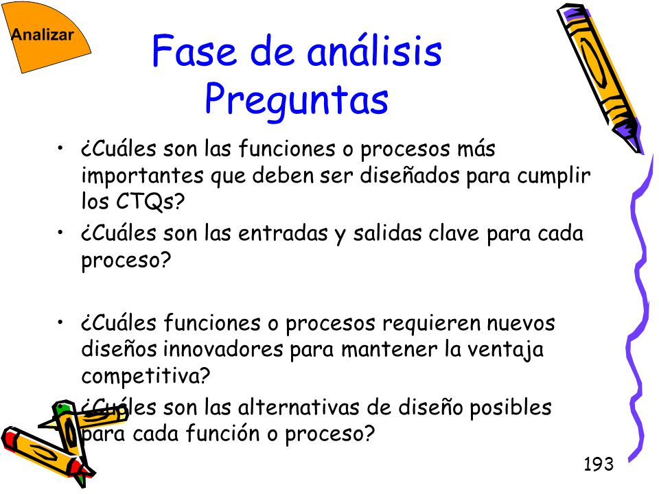 Fase de análisis Preguntas