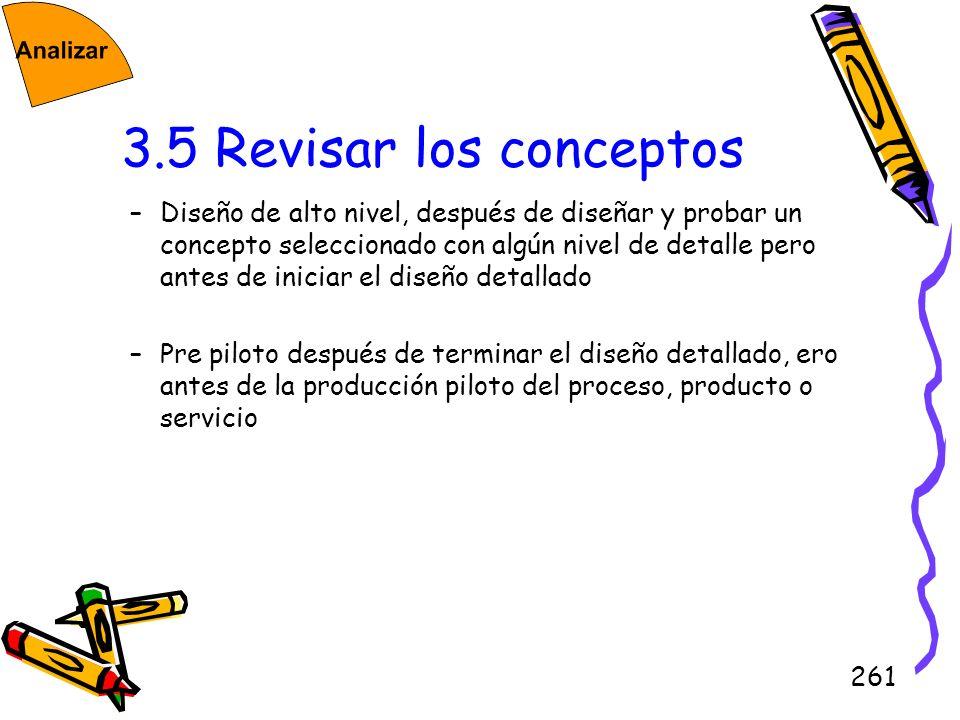 3.5 Revisar los conceptos