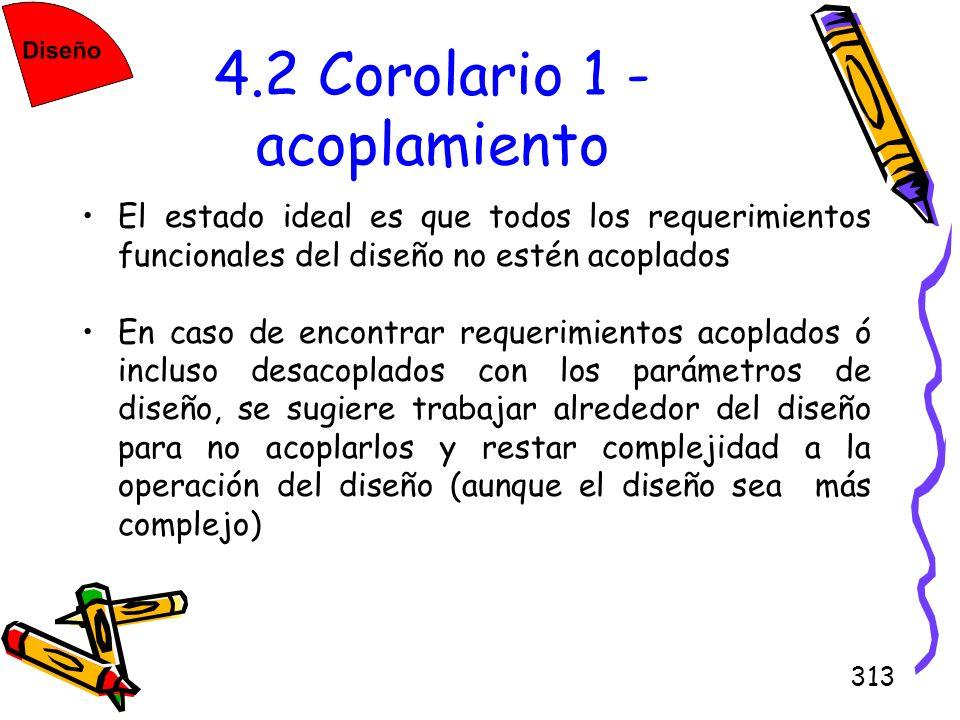 4.2 Corolario 1 - acoplamiento