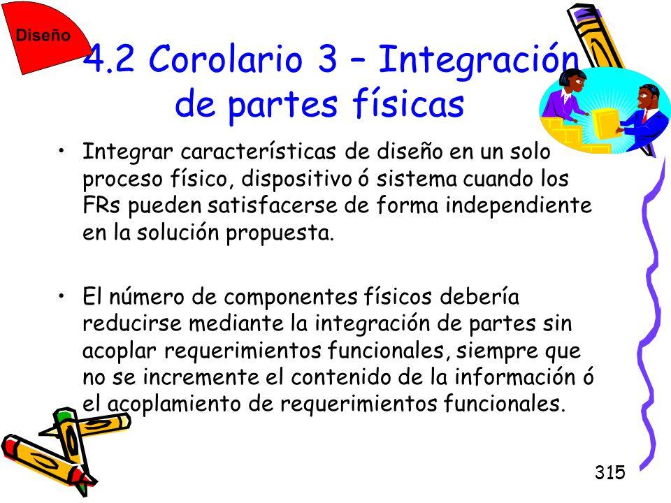 4.2 Corolario 3 – Integración de partes físicas