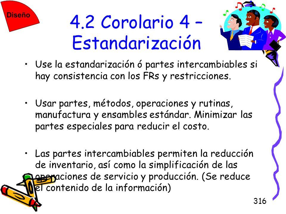 4.2 Corolario 4 – Estandarización