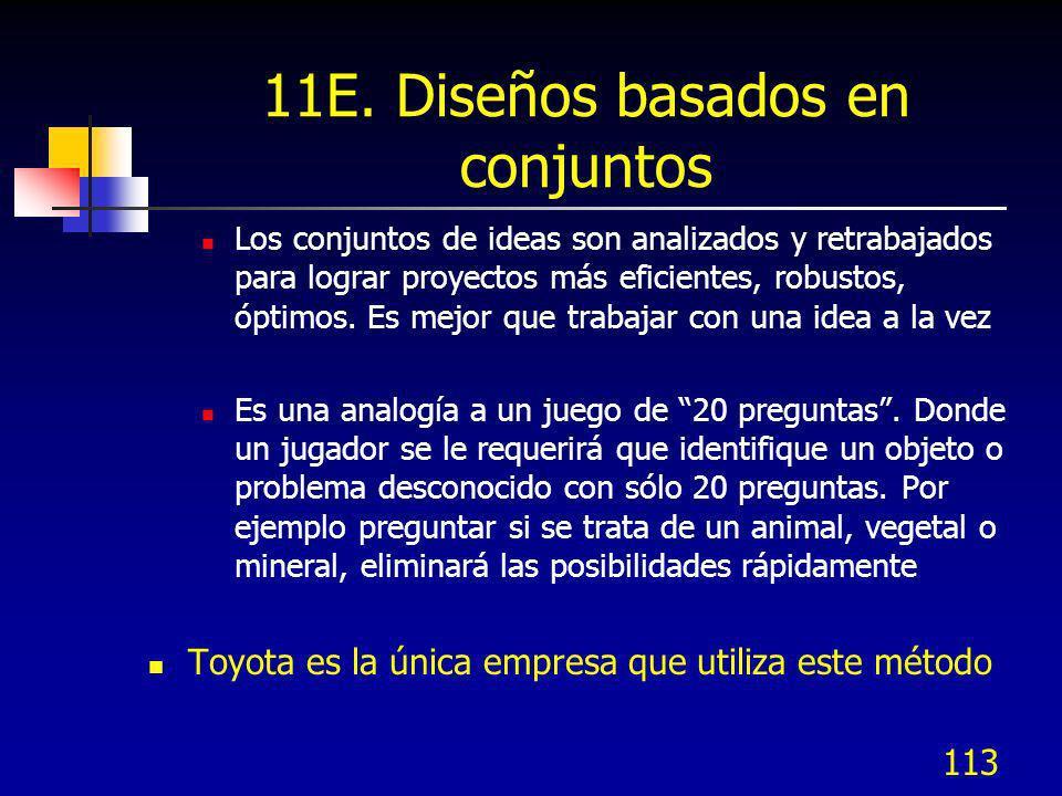 11E. Diseños basados en conjuntos