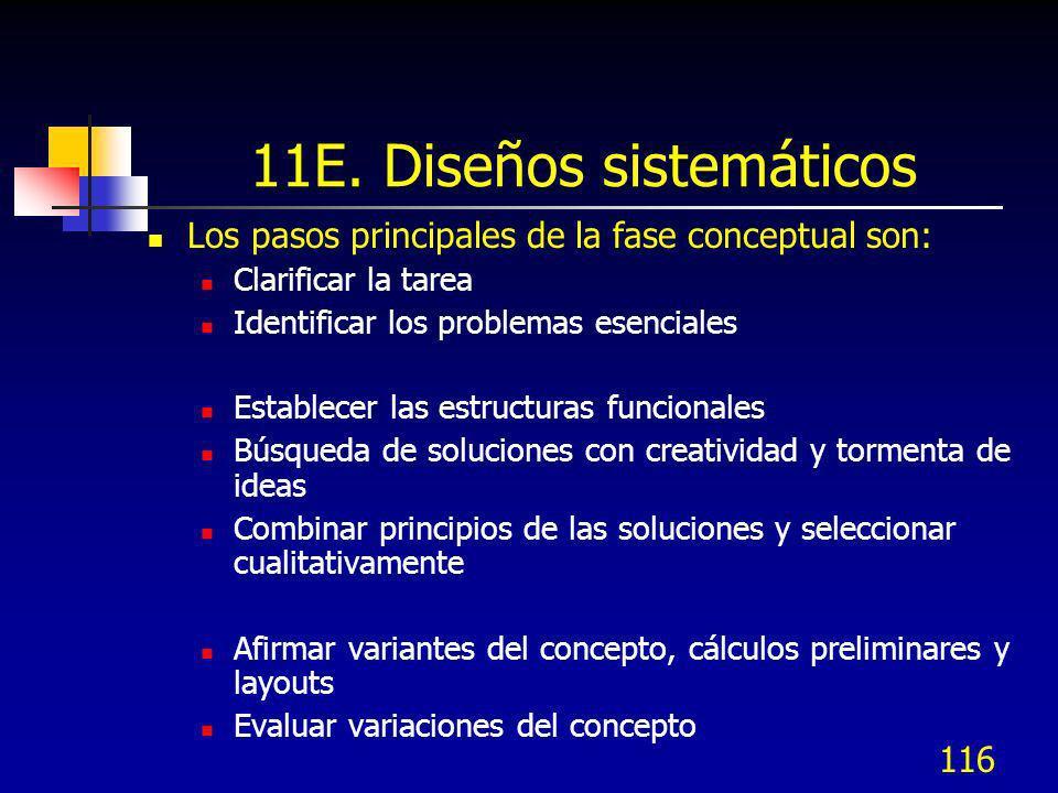11E. Diseños sistemáticos