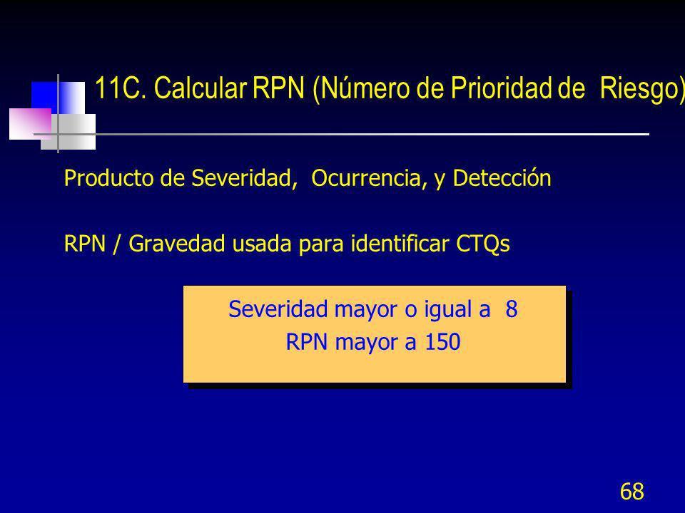 11C. Calcular RPN (Número de Prioridad de Riesgo)