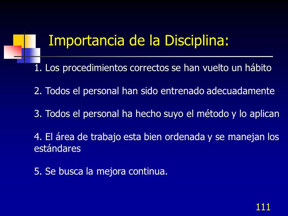 Importancia de la Disciplina: