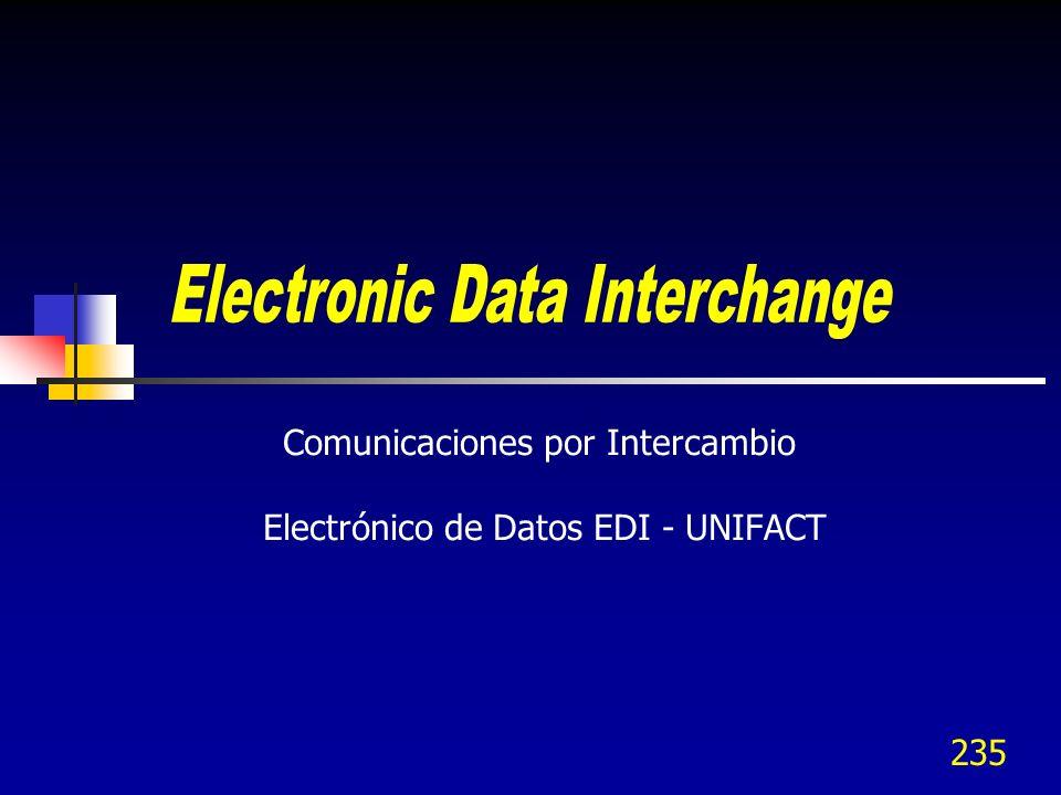 Comunicaciones por Intercambio Electrónico de Datos EDI - UNIFACT