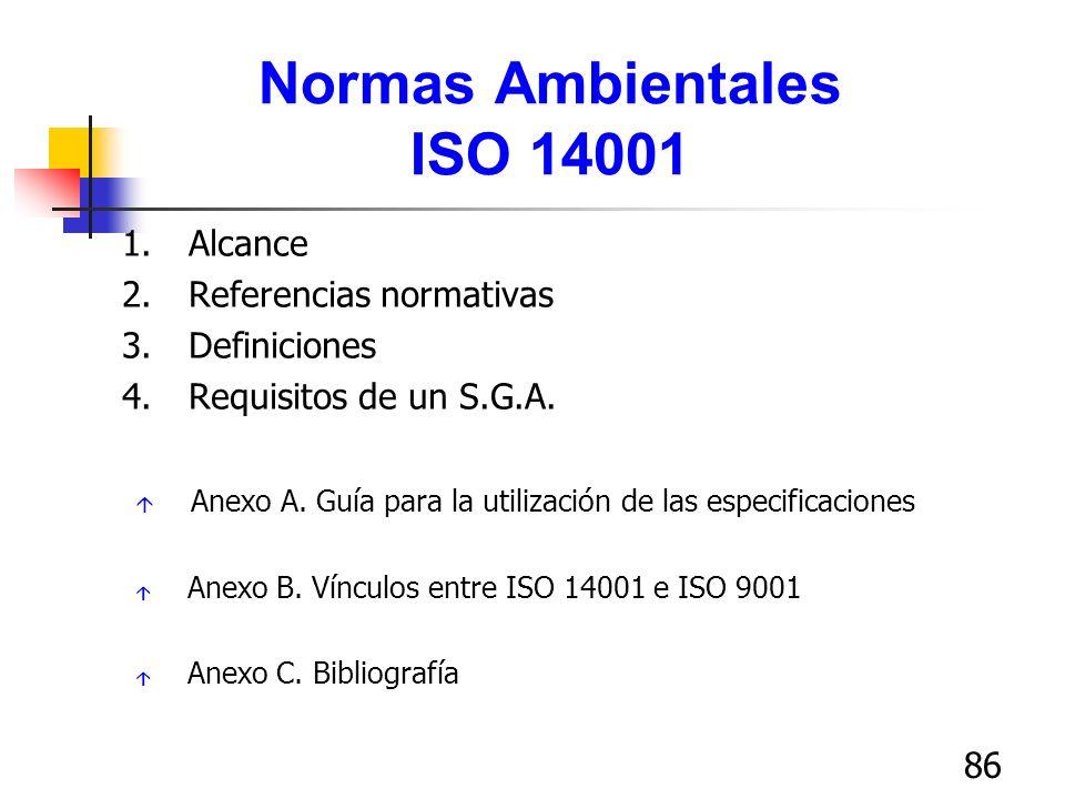 Normas Ambientales ISO 14001