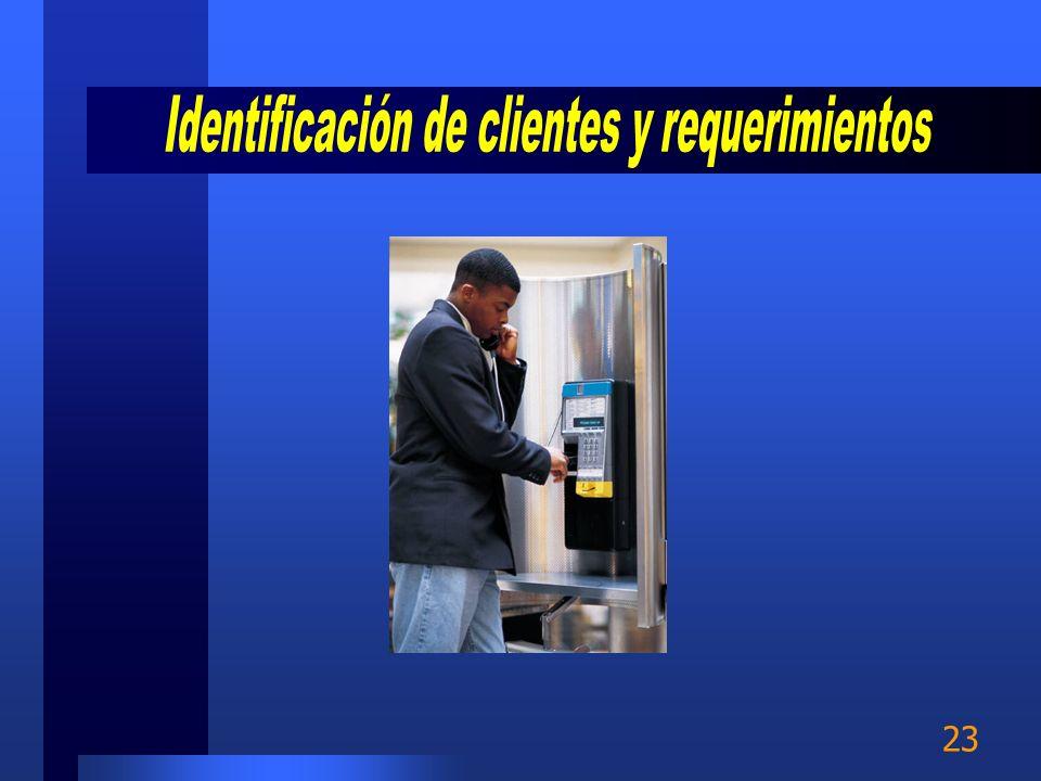Identificación de clientes y requerimientos