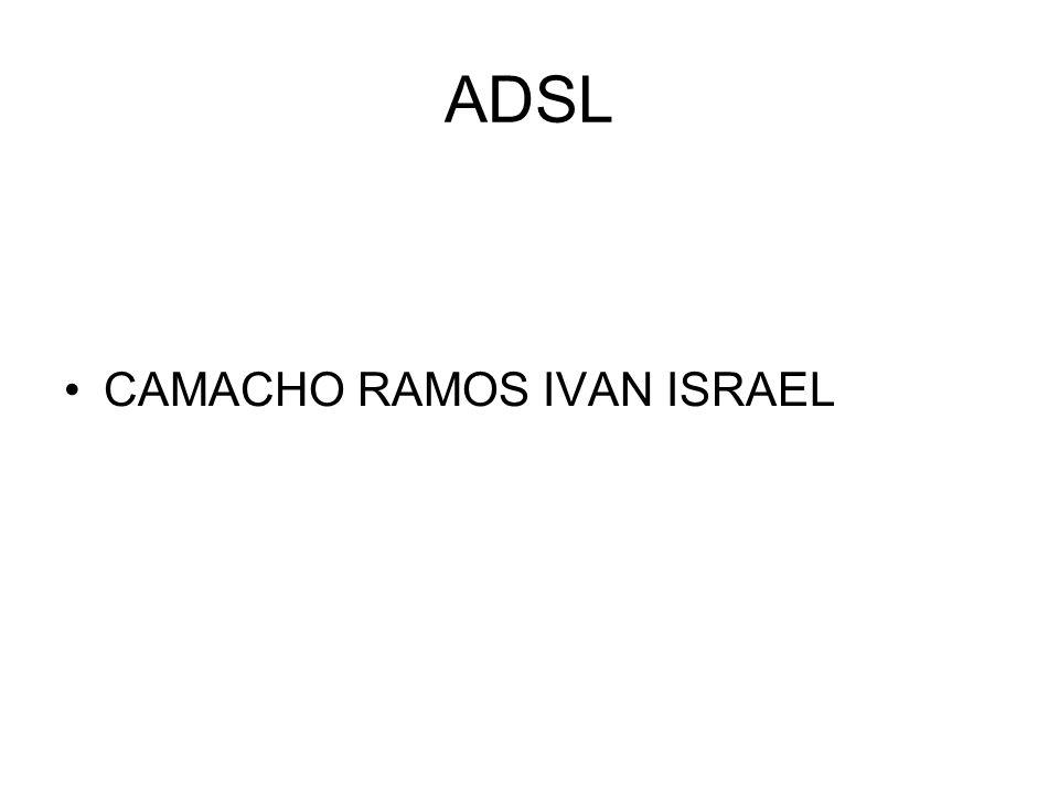 ADSL CAMACHO RAMOS IVAN ISRAEL
