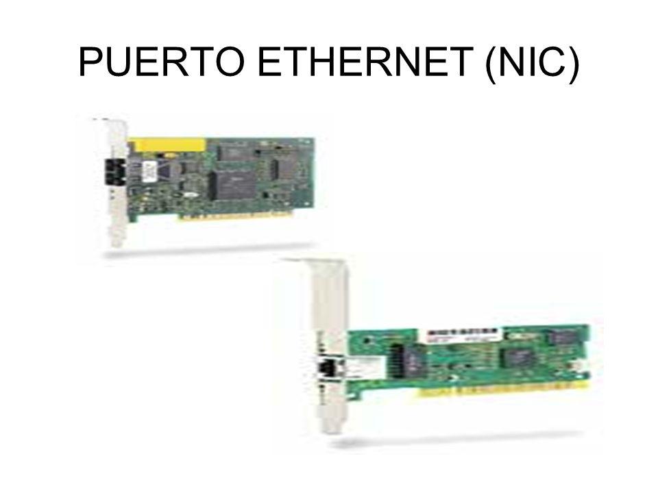 PUERTO ETHERNET (NIC)