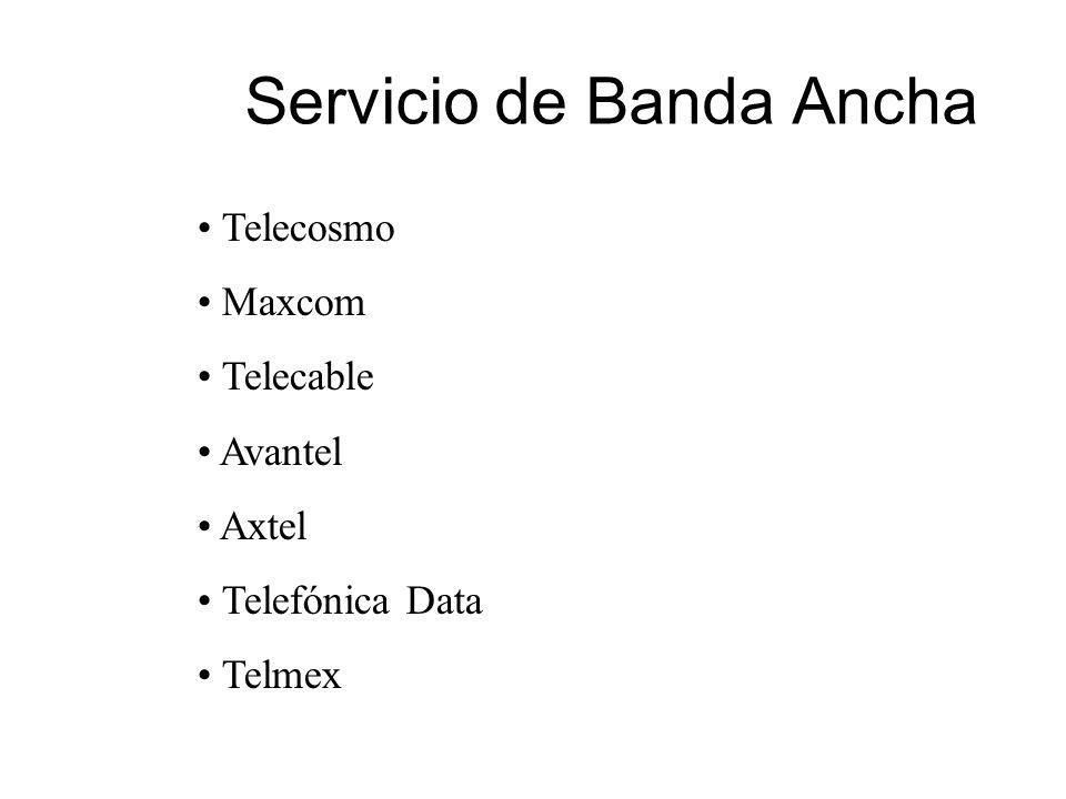 Servicio de Banda Ancha