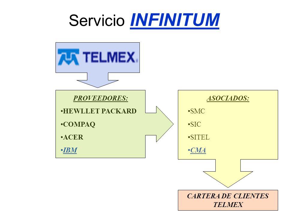 CARTERA DE CLIENTES TELMEX