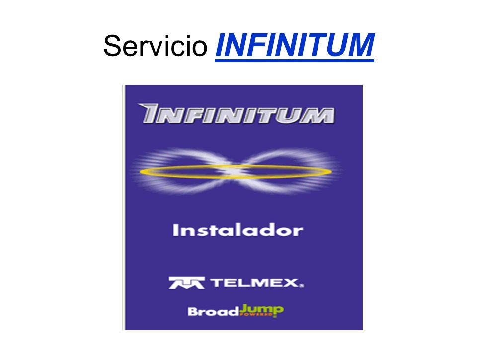 Servicio INFINITUM