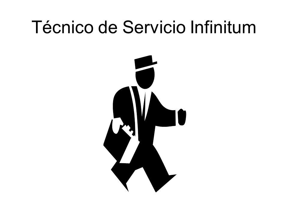 Técnico de Servicio Infinitum