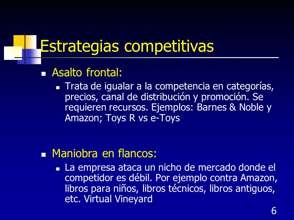 Estrategias competitivas