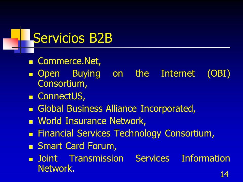 Servicios B2B Commerce.Net,