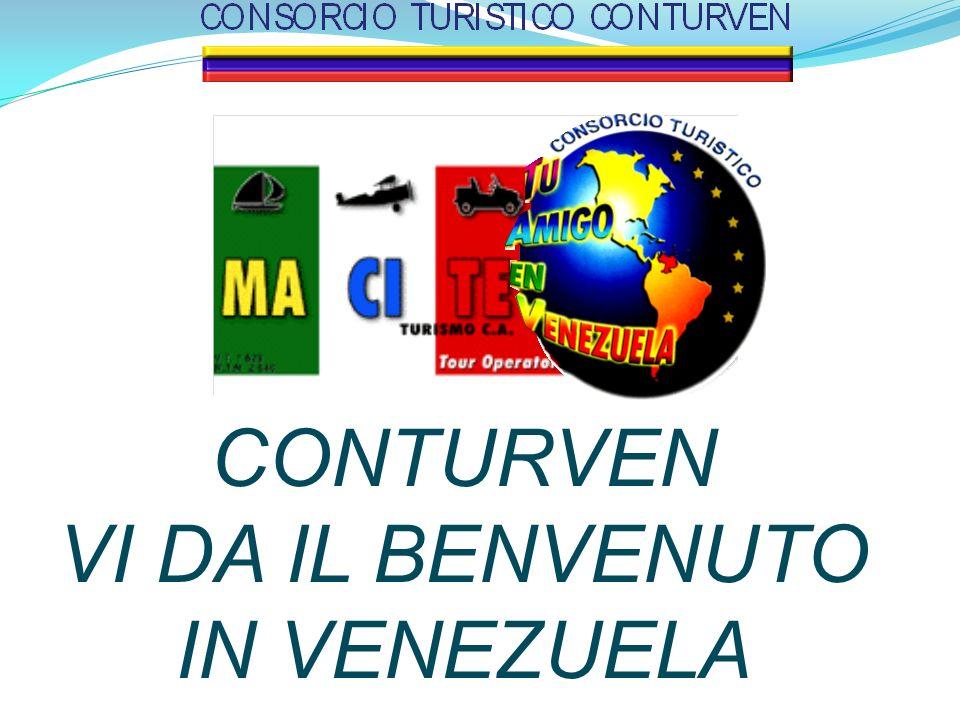 CONTURVEN VI DA IL BENVENUTO IN VENEZUELA