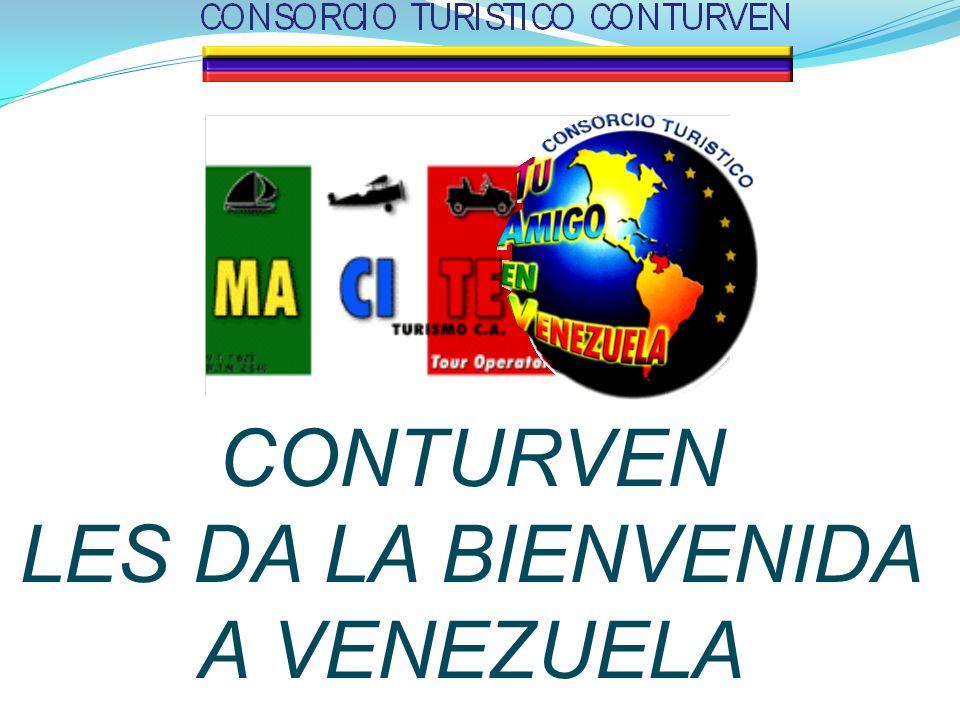 CONTURVEN LES DA LA BIENVENIDA A VENEZUELA