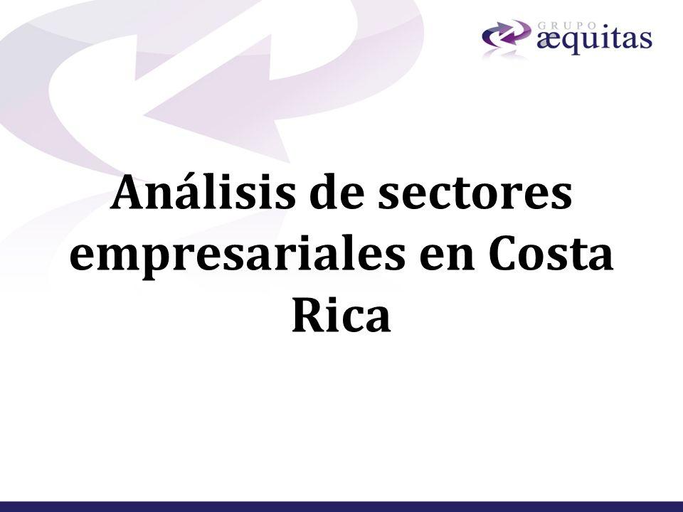 Análisis de sectores empresariales en Costa Rica