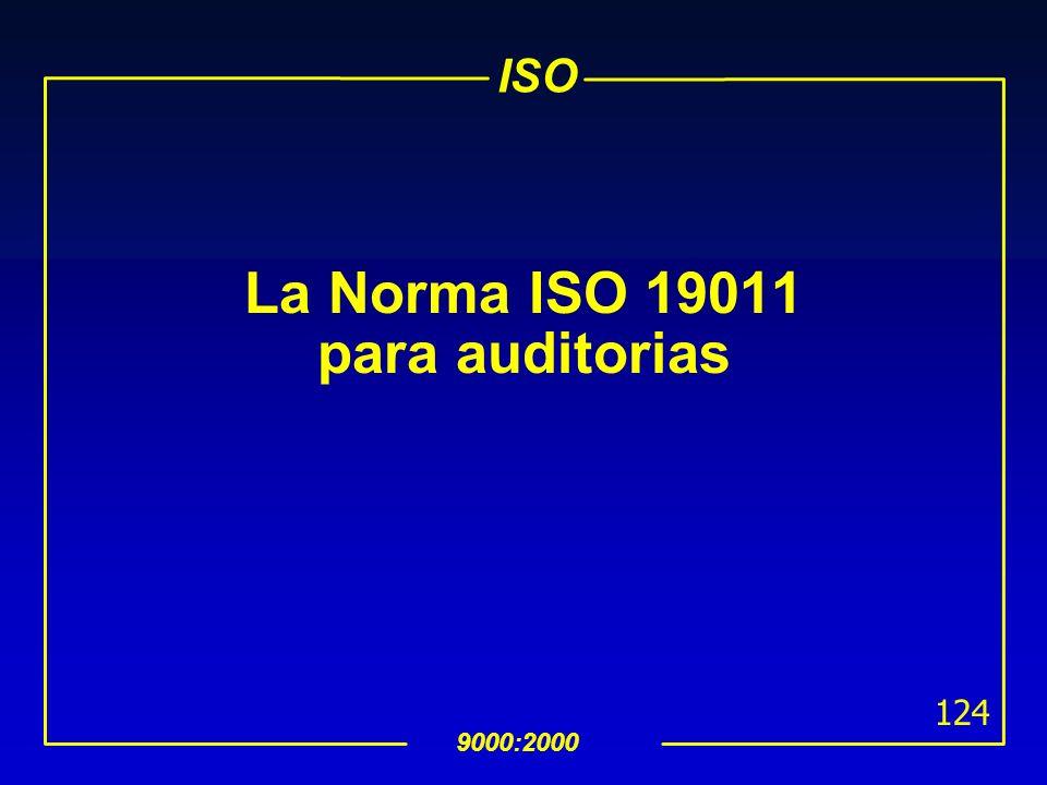 La Norma ISO 19011 para auditorias