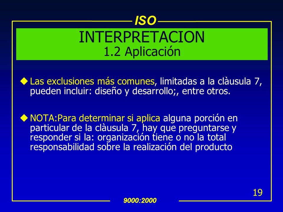 INTERPRETACION 1.2 Aplicación